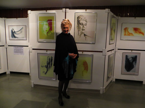 Sylvia Sass exhibition in IIC 120925