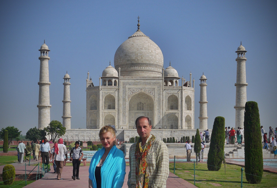 The Taj Mahal India 2012 with Thierry Pillon